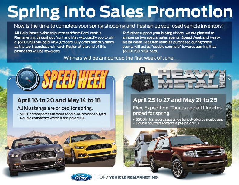 Spring Into Sales Promotion