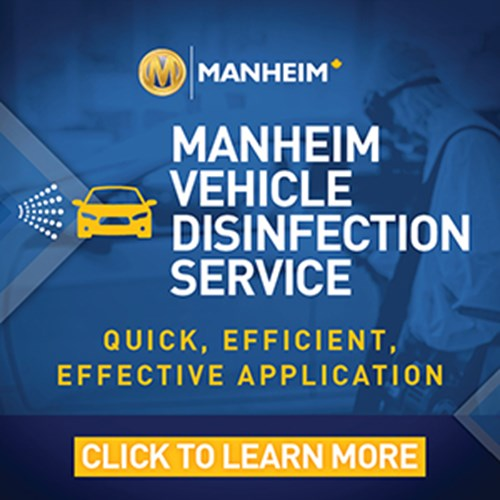 Manheim Vehicle Disinfection Service